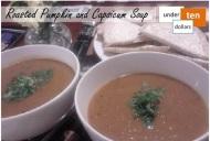 Roasted Pumpkin & Capsicum Soup