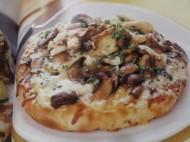 Three Mushroom Pizza