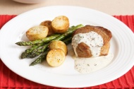 Creamy Mustard and Thyme Veal