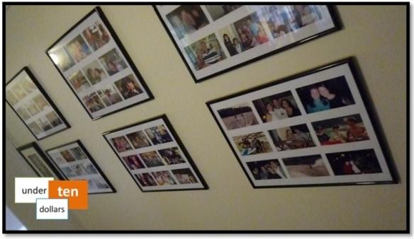 DIY Photos Wall Frames
