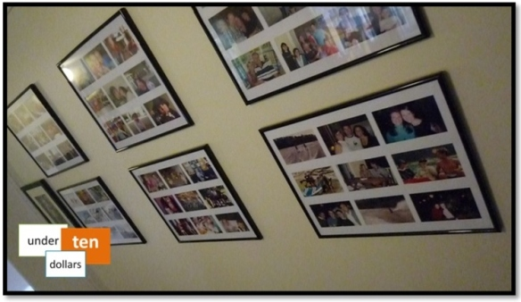 DIY Photos Wall Frames