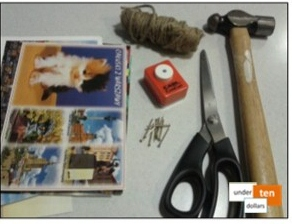 Postcard gather tools